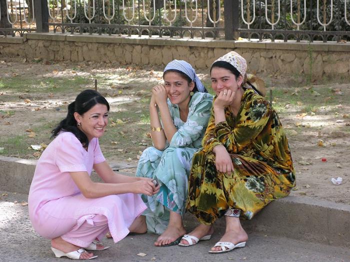 в москва таджичка